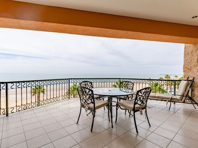 Photo for SSE 403 Amazing Ocean Front 2 bedroom condominium on the 4th floor