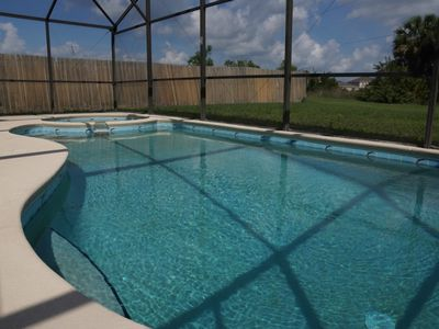 Photo for Beautiful Disney Home - 4BR , Private Pool, WiFi