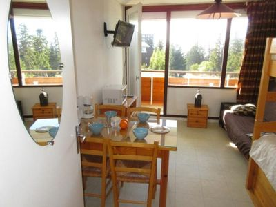 Photo for Apartment Chamrousse, studio flat, 3 persons