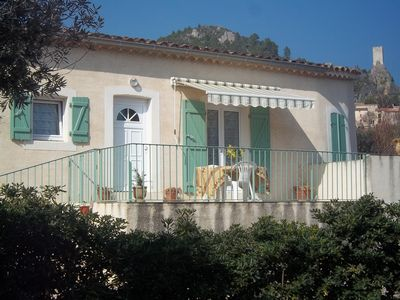 Photo for Cottage in picturesque ROQUEBRUN-Quiet-Close-bathing town