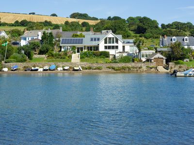 Photo for Waterside luxury apartment in beautiful South Hams
