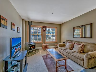 Photo for Luxury Three Bedroom Kirkwood Condo – Steps from Chair Six