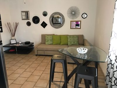 Photo for BEST 1 Br Apt/Seep 6,  Steps to Beach & 3 Min from Airport WIFI & Parking