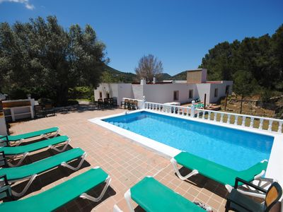 Photo for Large Ibiza Finca in San Jose with Sea Views, Ideal for Groups & Families