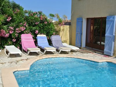 Photo for Holiday house with private pool near the beach
