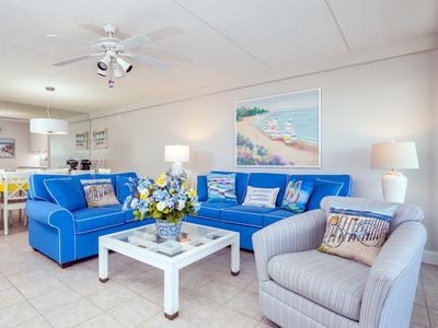 Photo for Beautiful Condo in Oceanfront Building with Stunning Bay Views       views are of the bay