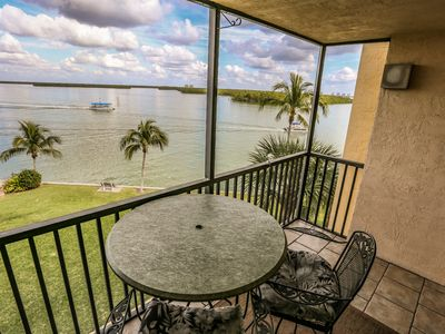 Photo for 2/2 condo overlooking Estero Bay right at the end of Lenell Road