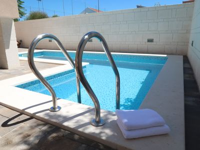 Photo for A1 Villa Sunshine, Okrug Gornji - apartment by the pool