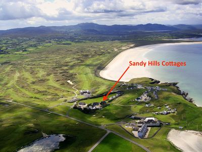 Photo for Sandy Hills Cottages, overlooking Rosapenna Golf Resort and  Tramore Beach