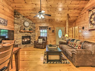Photo for NEW! Cozy Sevierville Cabin w/Hot Tub & Game Room!