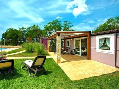 Photo for Mobile Homes Camping Park Umag, Umag  in Westküste Istrien - 6 persons, 2 bedrooms