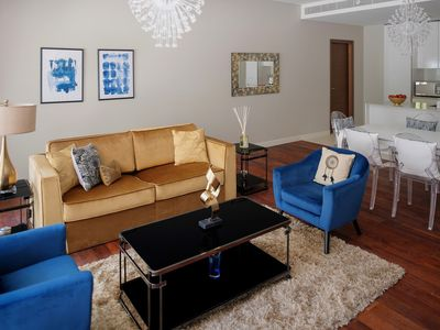 Photo for Spacious City Walk - 101 apartment in Downtown with WiFi, integrated air conditioning (hot / cold),…