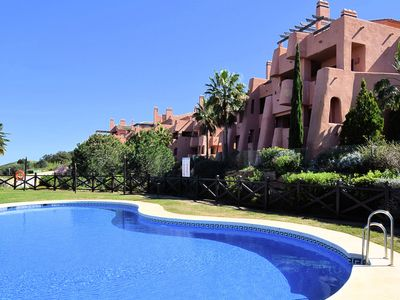 Photo for Beautiful apartment with stunning views, near the resort El Soto de Marbella