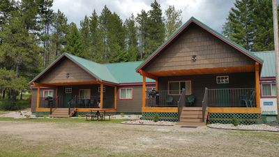 Photo for Moose Creek at Lazy Bear Lodging 10 miles/12 min. from Glacier National Park
