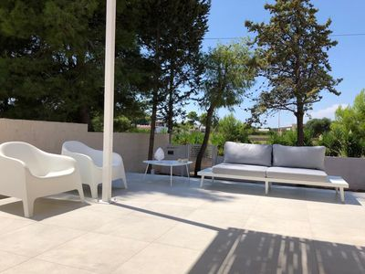 "Photo for ""La Janca"" Villa with Pool-Sea House with garden and 2 steps from the beach"
