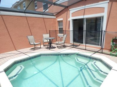 Photo for Beautiful 3br Townhouse w Private pool in gated Resort near Disney Orlando!