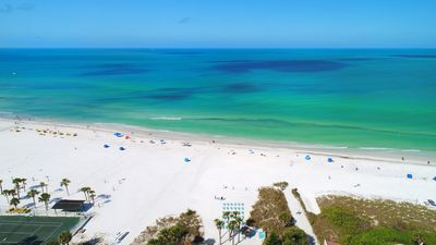 Photo for Experience Paradise in this newly updated BEACH FRONT 2BR-2BATH on #1 US Beach