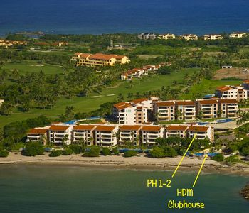 Condo located on beachfront in building 1 closest to clubhouse