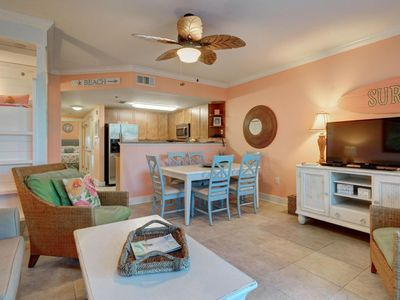 Photo for Waterscape B320 ~ 1BR plus bunks overlooking the heated pool!