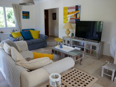 Photo for The villa Back Beach located 250 meters from the beach and quiet.