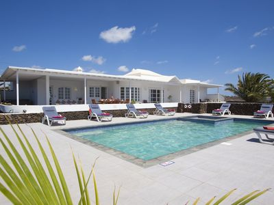 Photo for Luxury Villa, Private Heated Pool/Children Pool, Hot Tub, Sea & Garden Views
