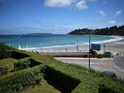 Photo for Small house SEA VIEW facing the beach Trestraou PERROS-GUIREC