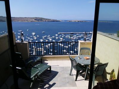 Photo for Duplex penthouse, breathtaking seaviews, terrace, barbeque in relaxed atmosphere
