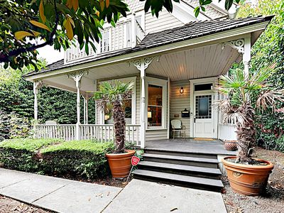 Photo for New Listing! Spacious Updated Victorian w/ Lake-View Balcony & Chef's Kitchen