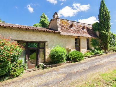 Photo for Cosy Holiday Home in Bourgnac with Private Pool