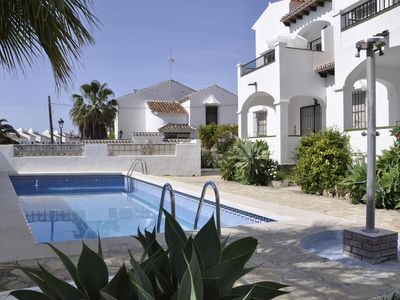 Photo for In Nerja, central apartment near the beach with sea views