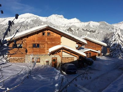 Photo for Chalet 10 people, 120 m² located in the center of the village