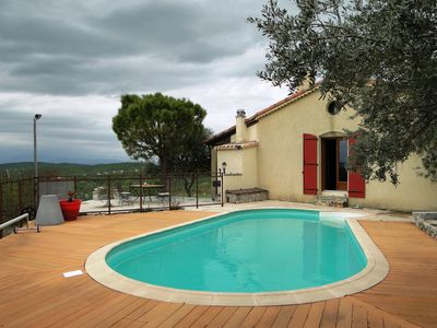 Photo for South Ardeche seasonal rental of a house