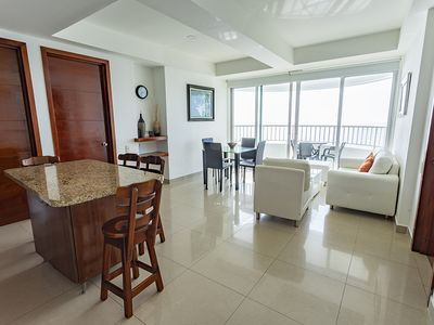 Photo for Elegant beachfront apartment at Bocagrande, Top Area