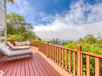 Photo for Relax and Enjoy Expansive Ocean Views from Your Own Private Retreat!