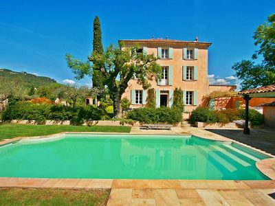 Photo for Le Petit Chateau, Private pool, Large Gated Gardens