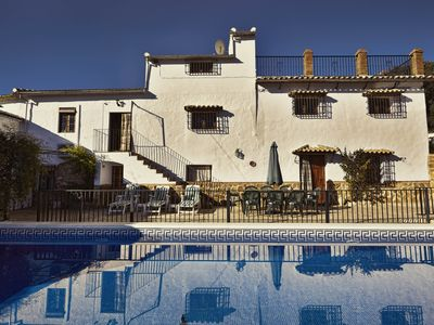 Photo for Farmhouse with private pool, terrace, beautiful views, in full nature