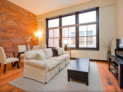 Photo for Downtown Loft: Footsteps from Lower Broadway! Fully Stocked + Free WiFi/Parking