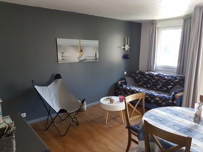 Photo for STUDIO 4 PERS FULL BALCONY SOUTH SITUATED IN TRIANGLE OF GOLD WITH PRIVATE PARKING