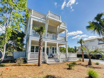 Photo for Gulf and Lake Views! Private Heated Pool! Minutes from Beach!