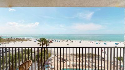 Photo for Direct Beach Front Balcony - Overlooking Madeira Beach and Gulf of Mexico - Free Wifi