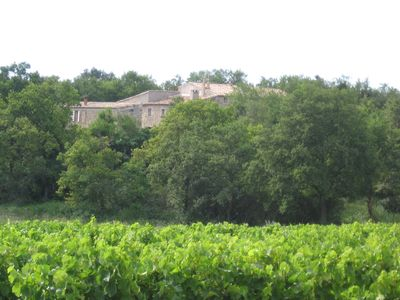 Photo for House with pool in the vineyards of the Drôme Provençale
