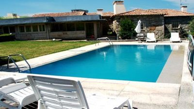 Photo for Holiday house with pool and tennis court