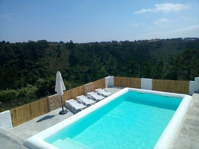 Photo for Casa Azul da Relva (PRIVATE POOL) - For Families - House for 7 people in Ericeira
