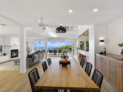 Photo for Ocean Views, Designer Beach House, Walking Distance to Beach & Shops