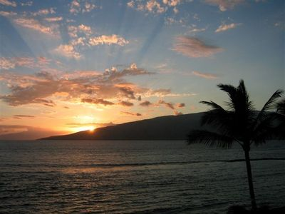 Breathtaking sunset views from your private lanai