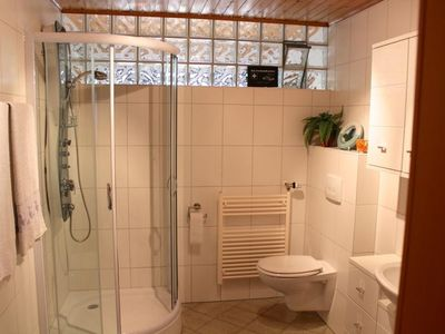 "Photo for Apartment, shower, toilet, infrared cabin - Apartment ""Zur Quelle"""