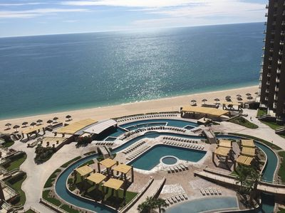 Photo for Beautiful oceanfront condo on the 10th floor in PHASE 2-Most desired 2bed 2bath