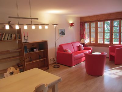 Photo for 2. 5 Apartment with terrace in résidance Chandolin (VS)