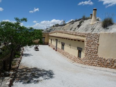 Photo for El Monterón Cave (Casa Mari Apartment) with capacity for 6 people