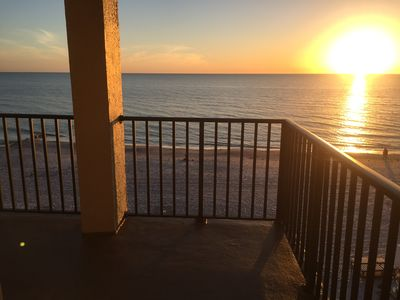 Photo for Beautiful  Beach Front 3 bedroom condo In Las Brisas on Madeira Beach